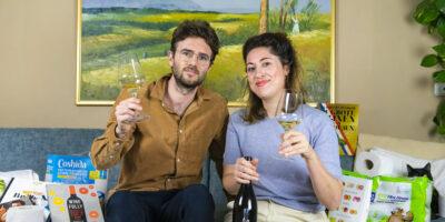 Nadine en Boris, wijnliefhebbers